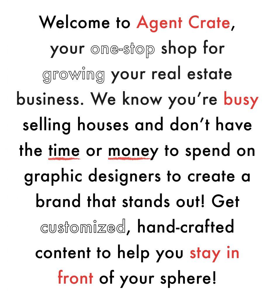 Agent Crate   Real Estate Marketing & Social Media