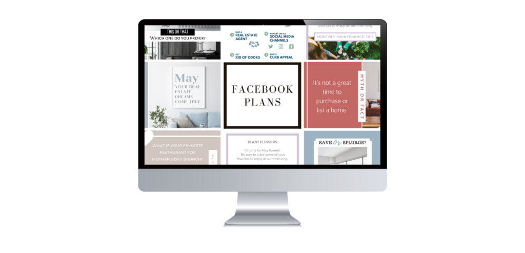 automated real estate social media posts