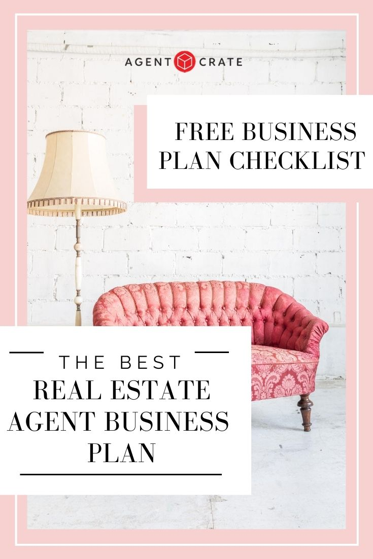 Agent Crate Real Estate Agent Business Plan