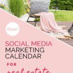 Social Media Content Calendar for Real Estate – Free Download