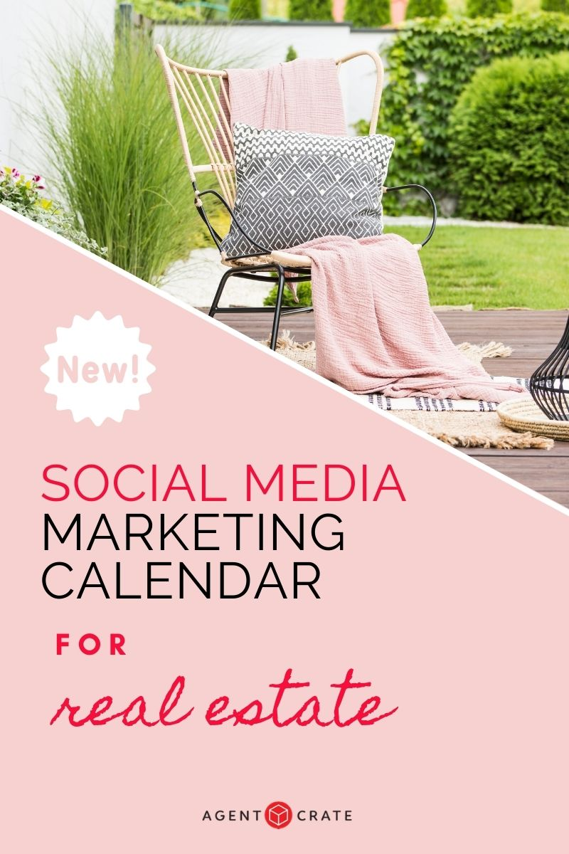 social media content calendar for real estate