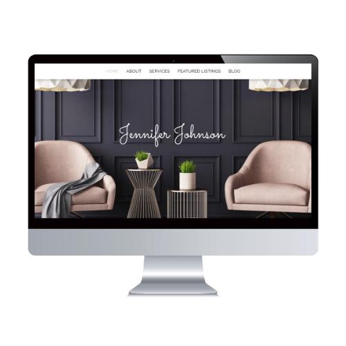 real estate agent branding website