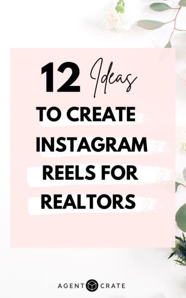 Instagram reels for realtors